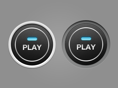 Left or Right? button dashboard glow