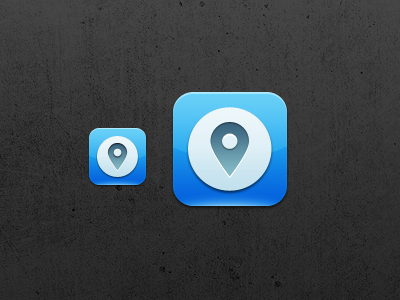 App Icon app icon iphone ios location