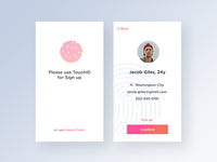 Sign Up | Daily UI Challenge #001