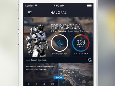 HaloPal - Halo Hackathon Entry