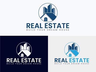Real Estate Logo Design | Home Logo Design minimalist logo modern logo design foreclosure mortgage housing selling home property forsale broker realty brand identity logo maker logo design