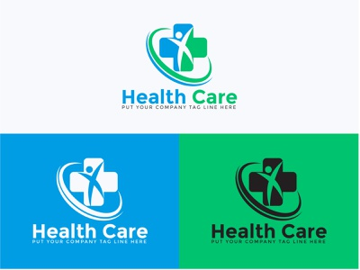 Health Care Logo Design | Medical Logo | Logo Design | Health company logo free logo logo design brand identity modern logo design logo maker