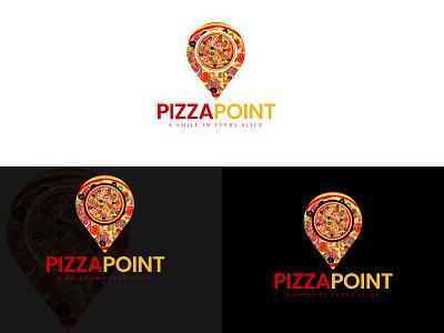 PIZZA LOGO | PIZZA | PIZZA POINT | LOGO DESIGN | LOGO | flat logo design logo design free logo logo maker modern logo design brand logo