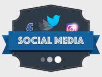 Social Media Team Badge