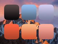 Mac OS Sierra Gradient