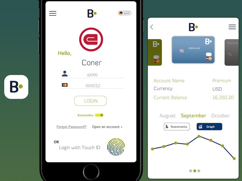 Mobile Banking App by Abdulrahman Al Wasmi | Dribbble | Dribbble