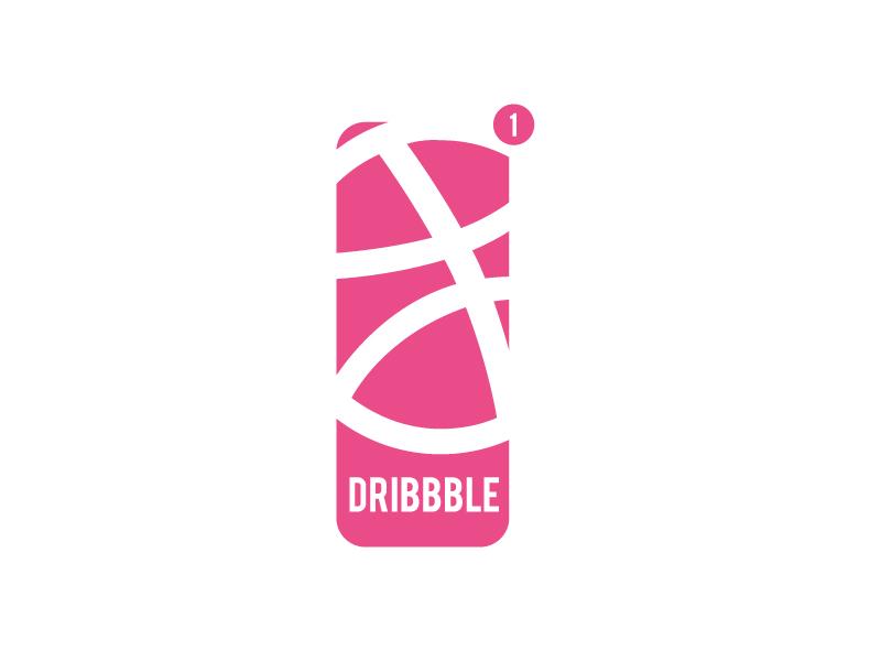 1x Dribbble Invite NBA Draft logo branding dribbble invite