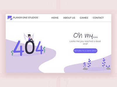 DailyUi #008 - Error 404 404 error 404 page dailyui ui ux uichallenge design