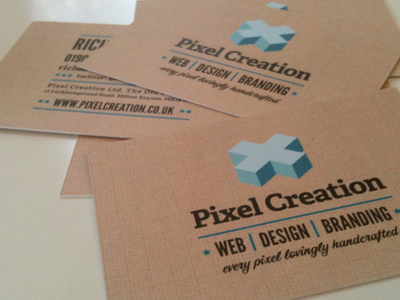 New cards cards print texture grid temporary business cards