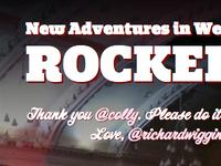 New Adventures in Web Design rocked!