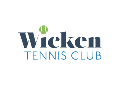 Wicken Tennis Club logo idea