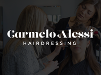 A quick logo for an old client – Carmelo Alessi Hairdressing