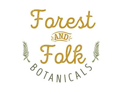 Forest and Folk Botanicals - logo concept