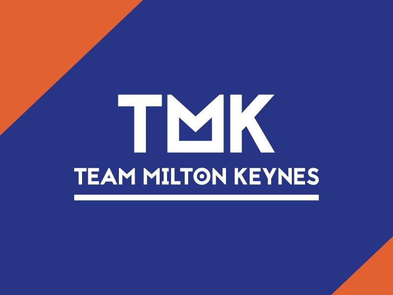 Team MK Cycling Club - a logo concept cycle track road race team club milton keynes mk cycling identity brand logo