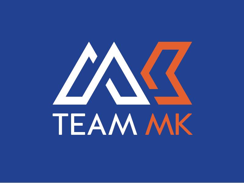 Team MK Cycling Club - a logo concept team road race mk keynes milton logo identity cycling cycle club brand
