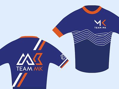 Team MK Cycling Club - new kit concepts jersey kit logo brand identity cycling milton keynes club team race road cycle