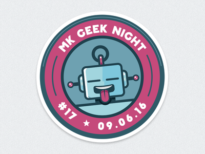 MK Geek Night #17 – Entrance Sticker
