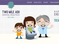 Two Mile Ash Dental Practice - web layout 01