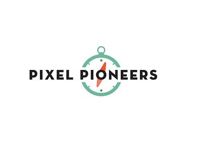Pixel Pioneers Final Logo illustration vector typography website logo