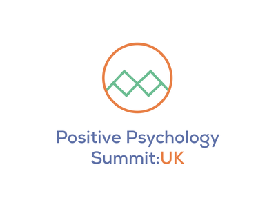 Positive Psychology Summit Logo illustration icon ui vector branding typography design logo