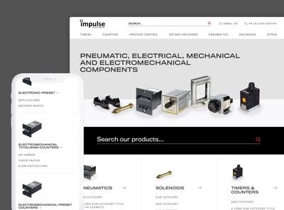 Impulse Automation Website Re-design