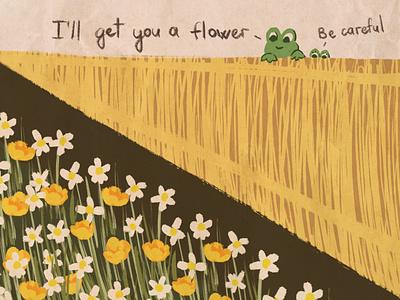 frogs illustration