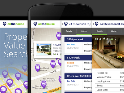 Property Value Search - Android App