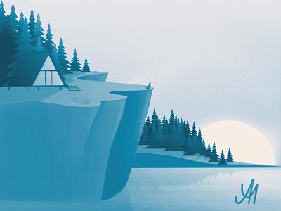 No.6 - The beginnings ipad illustration graphicdesign digitalart beginnings happynewyear 2021 newyear dribbbleweeklywarmup dribbble weeklywarmup