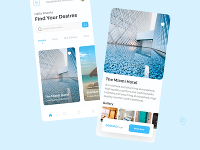 Booking App Design ✈️ travel branding uiconcept popular design 2021 trendy popular shot uiuxinspiration uiutrend ui uidesign ux design designers app uiux uxdesign booking 3d