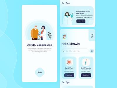 COVID19 Concept App 🦠 dribbble famous design uxdesign uiux ux trendy app uidesign designers graphic design 3d ui