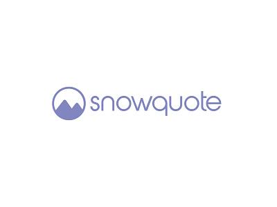 Snowquote branding logo