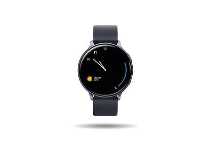 Simple Watchface watchface graphic design