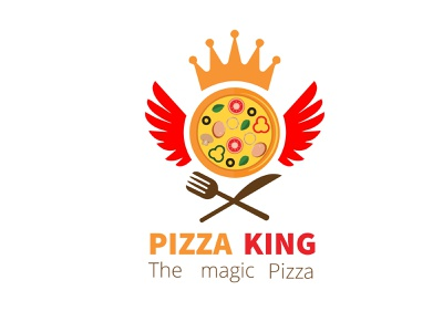 Pizza shop, testy food shop, online food shop creative logo graphic design modern logo vector corporate business pizza delivery logo design ecommerce food icon lettermark typography branding icon ui design illustration apps icon logos logo