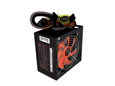 Fuente de alimentación ATX ventilador atx krotalon conector conectar energía alimentación power fuente