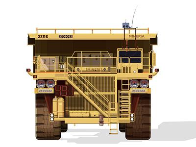 Front Yucle Truck méxico monster steel digital ink krotalon illustrationkrotalon minecraft operator gas upstairs yucle yucle heavy machine heavy duty mine truck