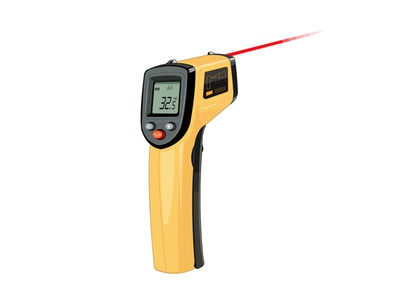 Pistola de temperatura laser 01