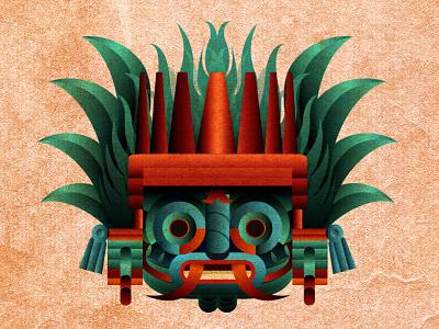 Tláloc, God of Lightning, Rain and Earthquakes mesoamerican ceremonies mexicas krotalon earthquake rain god tláloc