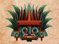 Tláloc, God of Lightning, Rain and Earthquakes