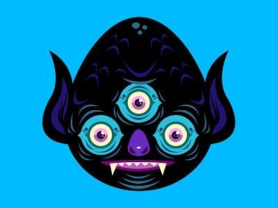 Little Monsters 4 horns bicycle nezahualcoyotl monsters méxico gill sánchez monster delivery service krotalon imagination acrylic monster