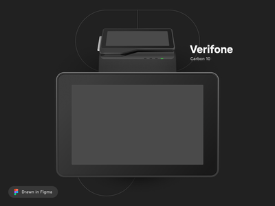 Vector Drawings of Payment Devices gif payments point of sale terminal newland castles xac verifone figma vector illustration mockups