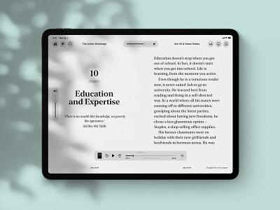 Kindle & Audible Integration | Lark ebook ebooks ibooks kindle audible prototype protopie audio book