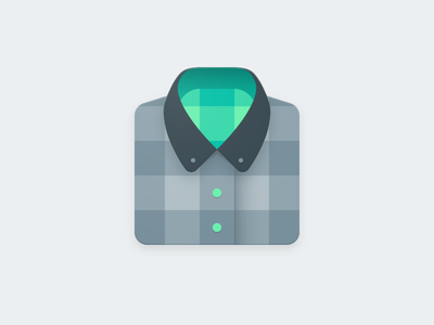 Plaid Product Icon material icon material design