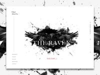 Edgar Allan Poe | The Raven - Landing Page