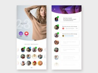 Daily UI - Messaging / Dating
