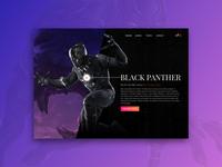 Black Panther | Landing Page