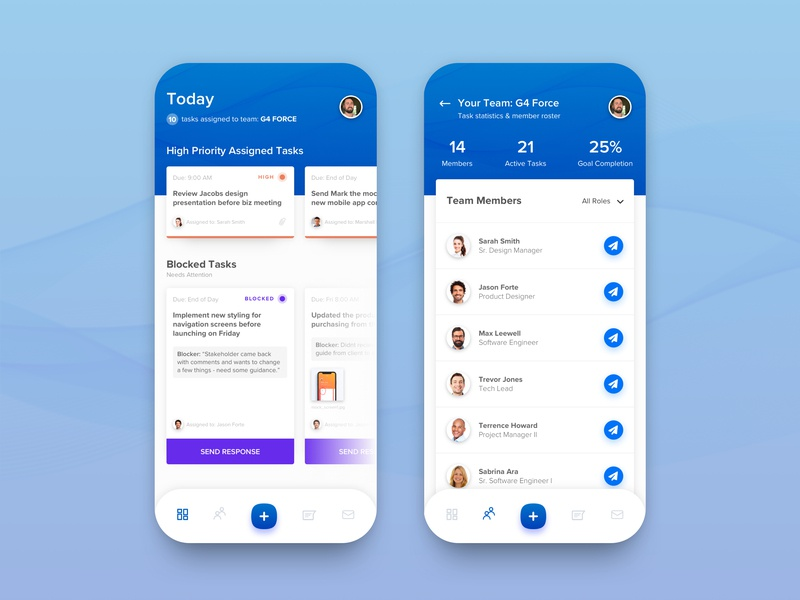 Task Management App by Matt Elbert on Dribbble