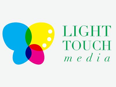 Light Touch Media Logo adobe illustrator branding graphic design logo