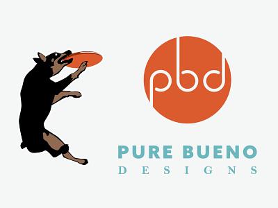 Pure Bueno Designs Logo adobe illustrator graphic design branding logo