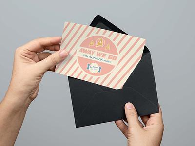 Set Phasers to Fun design adobe illustrator greeting card card graphic design star trek
