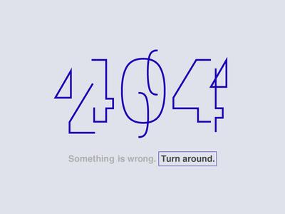 404 - Daily UI 008